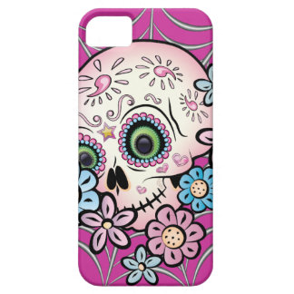 Sweet Sugar Skull iPhone SE/5/5s Case