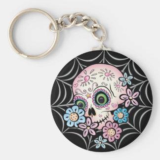 Sweet Sugar Skull Keychain