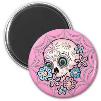 Sweet Sugar Skull Magnet