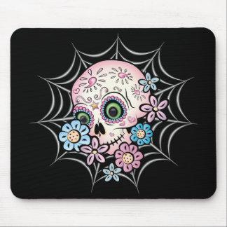 Sweet Sugar Skull Mouse Pad