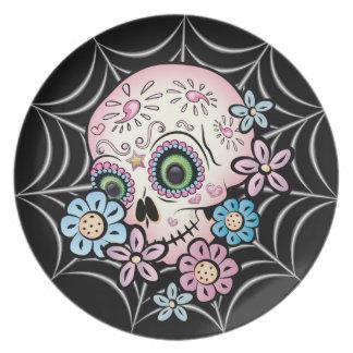 Sweet Sugar Skull Party Plates