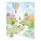 Sweet summer paradise! postcard