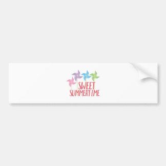 Sweet Summertime Bumper Sticker