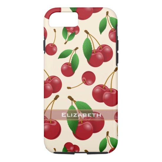 sweet summertime cherries iPhone 8/7 case