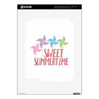 Sweet Summertime iPad 3 Skin