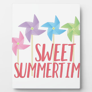Sweet Summertime Plaque