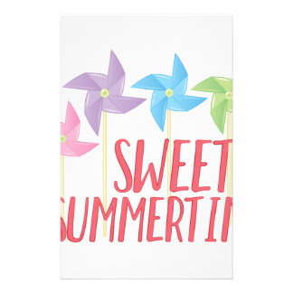 Sweet Summertime Stationery