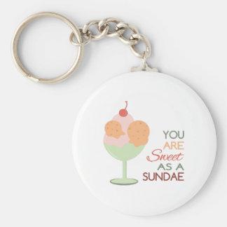 Sweet Sundae Key Chain