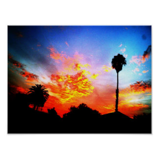 sweet sunset poster