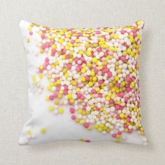 Sweet sweet candy throw pillow