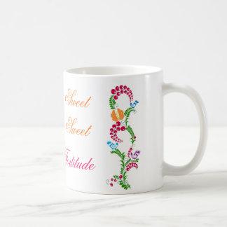 'sweet sweet fortitude' mug