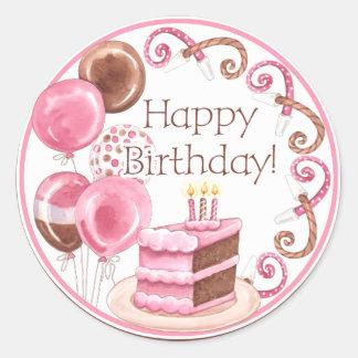 Sweet Sweets Happy Birthday Sticker