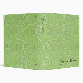 Sweet Swirls in Lime Binder