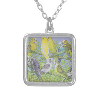 Sweet Talking Silver Plated Necklace