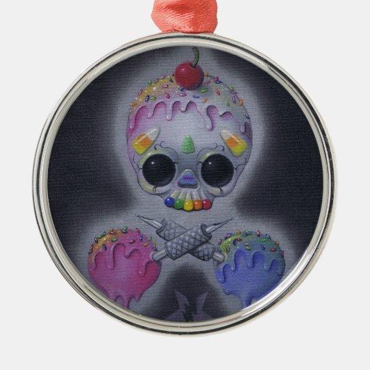 sweet tats metal ornament