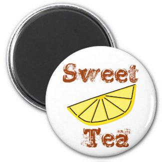 Sweet Tea 2 Inch Round Magnet