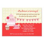 "Sweet Tea Birthday Party Invitation 5"" X 7"" Invitation Card"