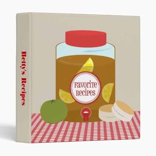 Sweet Tea, Green Tomato & Biscuits Recipe Binder