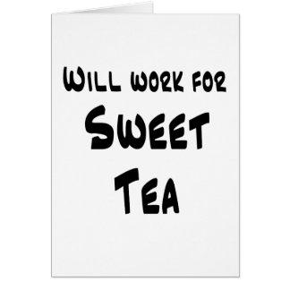 Sweet Tea Greeting Cards