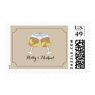 Sweet Tea Mason Jars Wedding Postage