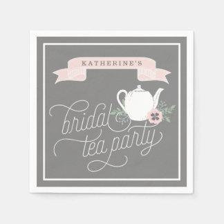 Sweet Tea | Personalized Bridal Tea Party Paper Napkin