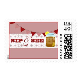Sweet Tea Sip & See Postage