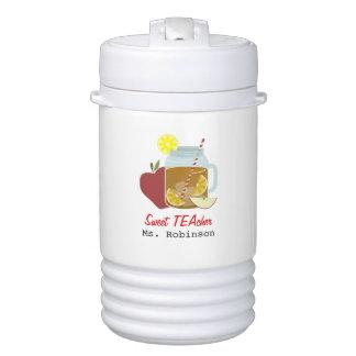 Sweet TEAcher Beverage Cooler