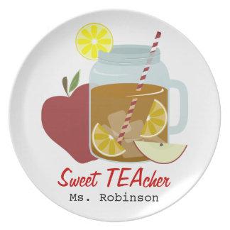 Sweet TEAcher Party Plate