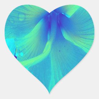 Sweet Teal Heart Sticker