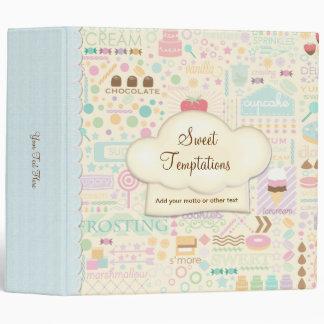 Sweet Temptations Bakery Boutique Binder