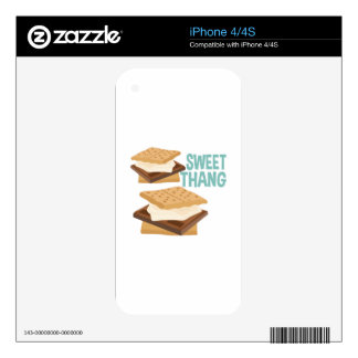 Sweet Thang iPhone 4S Decal