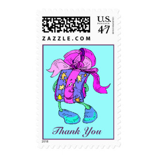 Sweet Thank You For the Gift TY Postage Stamps
