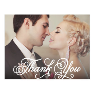 SWEET THANK YOU WEDDING THANK YOU POST CARD
