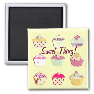 Sweet Thing! 2 Inch Square Magnet