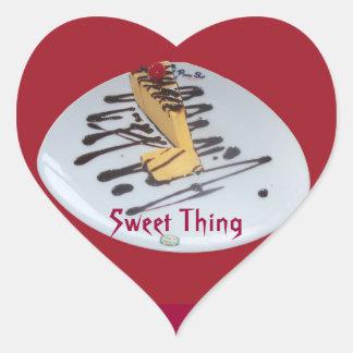 Sweet Thing Lucuma Dessert from Peru Heart Sticker