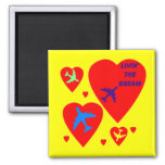 Sweet Thoughts 2 Inch Square Magnet