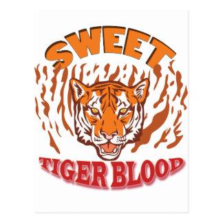 Sweet Tiger Blood Postcard