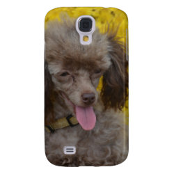 Case-Mate Barely There Samsung Galaxy S4 Case with Poodle Phone Cases design