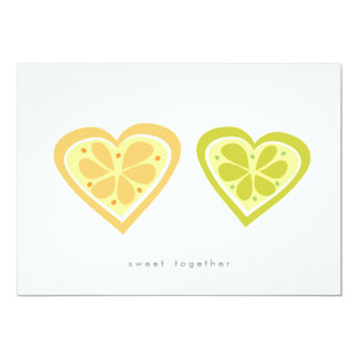 Sweet Together Save the Date Card