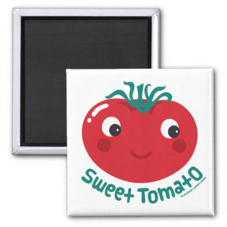 Sweet Tomato 2 Inch Square Magnet