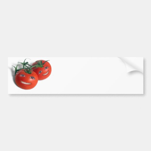 Sweet Tomatoes Car Bumper Sticker