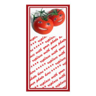 Sweet Tomatoes Custom Photo Card