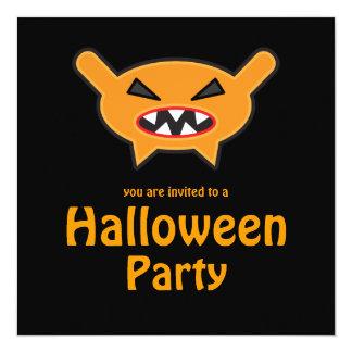 Sweet Tooth 4 Weirdo Bunch Halloween Party Invite
