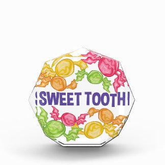 Sweet Tooth Acrylic Award