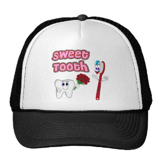 Sweet Tooth Cute Cartoon T-shirts For Women Trucker Hat