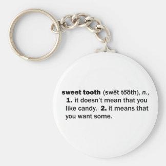 Sweet Tooth Keychain