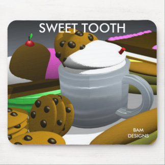 SWEET TOOTH mousepad