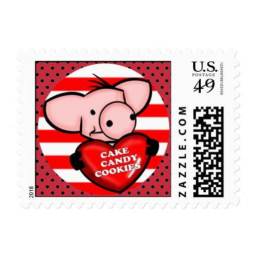 Sweet Tooth Pig Postage