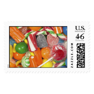 Sweet Tooth Postage Stamps
