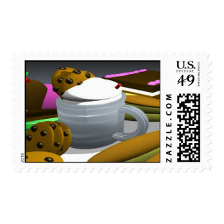 SWEET TOOTH stamp